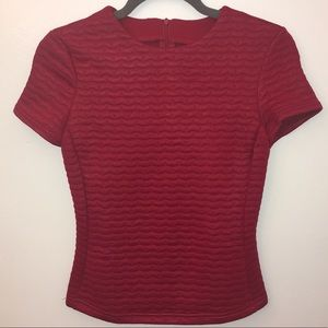 Tops - Fitting Red Top